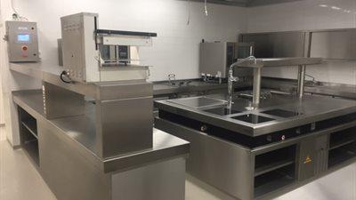 6 | Volledig ingerichte keuken voor het innovatief project van Droneport