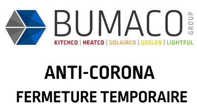 6   Fermeture temporaire de Bumaco Group - mesure anticorona