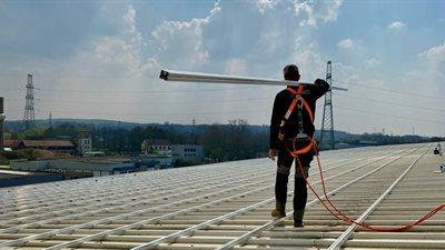 7 | Solairco installeert grootste REC Alpha - zonnepaneleninstallatie in Europa