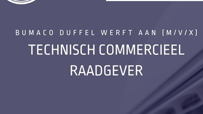 1 | BUMACO DUFFEL werft aan: Technisch commercieel raadgever HVAC / airco - warmtepompen (M/V/X)
