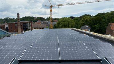 7 | Begijntjesbad Overijse: 100 x Bisol 320WP project