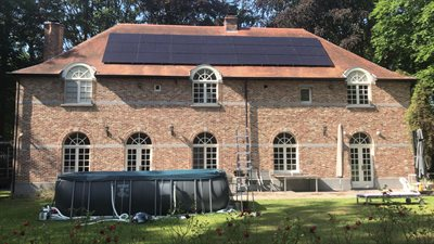 7 | 21x REC Solar 360WP Full black te Holsbeek